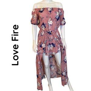 Love Fire Maxi Dress